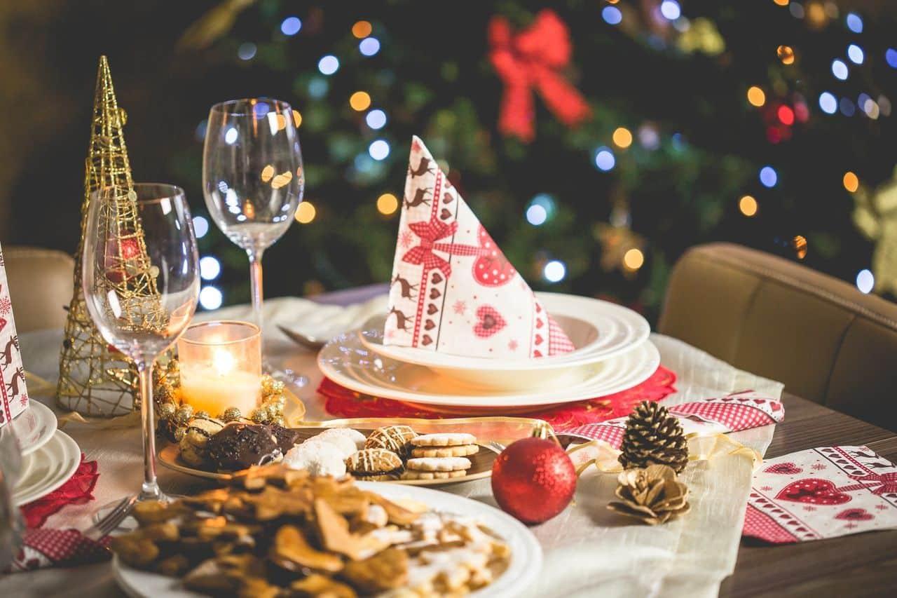 menu de Noël spécial marketing automation