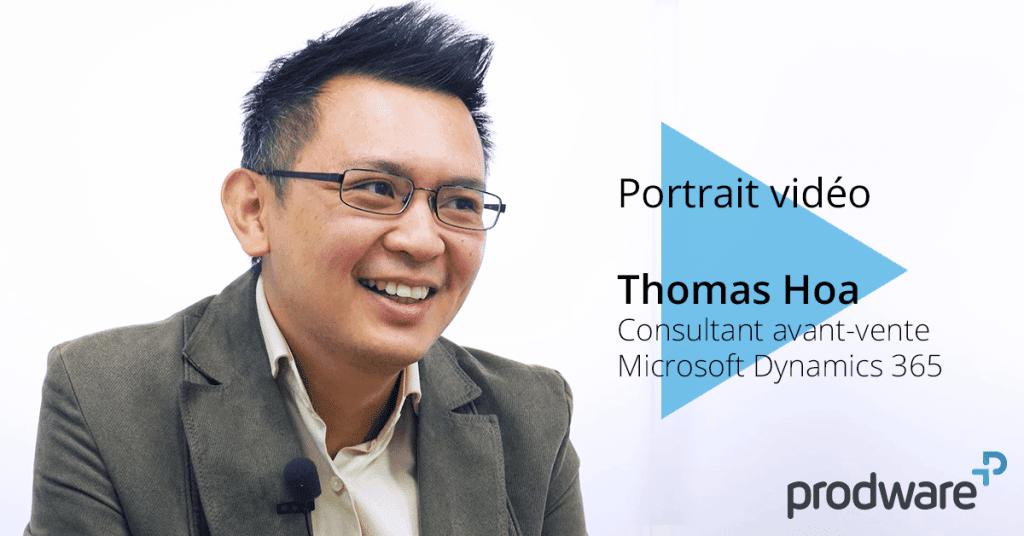 Thomas Hoa consultant avant-vente microsoft dynamics 365