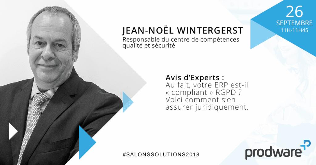 Jean-Noël Wintergerst - Responsable du centre de compétences qualité et sécurité