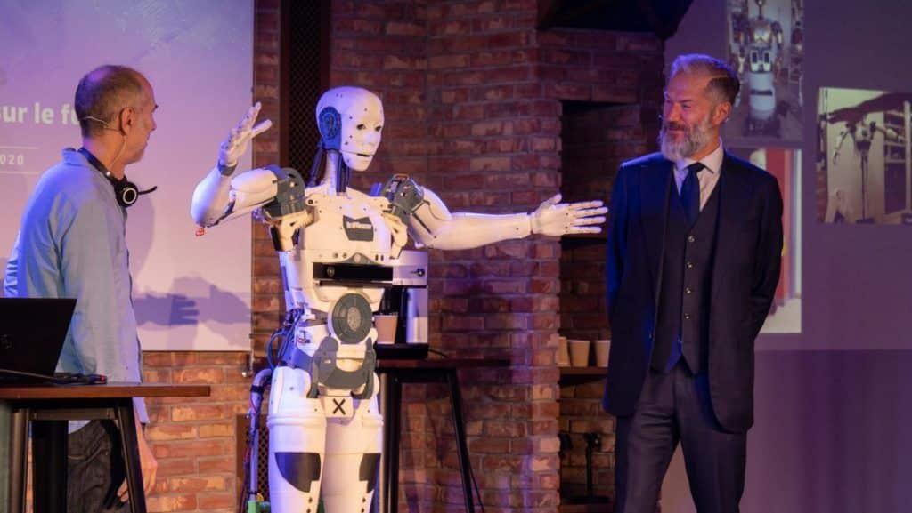Prodware reçoit InMoov, le robot de Gaël Langevin.