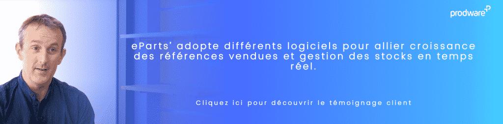 Témoignage client eParts'